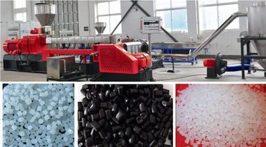 Good Quality Plastic Pellet Extruder & PVC Cable Plastic Film Extruder Machine , Plastic Pelletizing Equipment  on sale