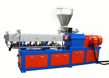 Good Quality Plastic Pellet Extruder & Black Masterbatch Laboratory Double Screw Extruder With High Filler Material on sale