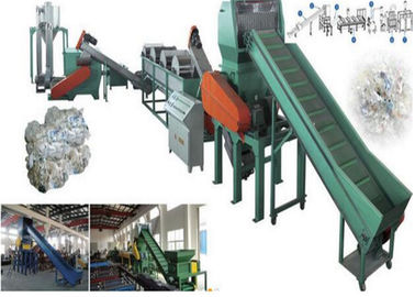 Floating PP PE Waste Plastic Recycling Extruder Single Screw 500kg/H Capacity
