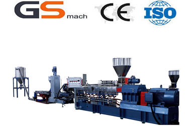 200 - 355 kg/h Filler Masterbatch Plastic Extruder Machine Double Screw