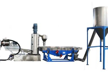 Water Ring System Plastic Pellet Extruder 2.2 Kw 300 - 400 Kg/H Capacity
