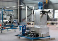 China Twin Screw Plastic Pellet Extruder With Underwater Cutting Pelletizing System factory