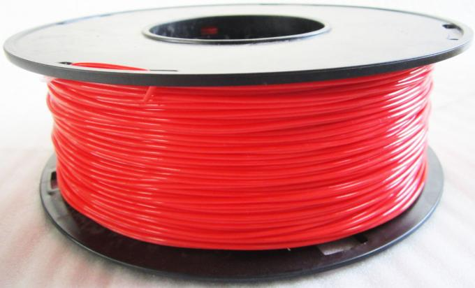 PLA HIPS Single Screw 3D Printer Filament Extruder Machine With 1.75mm / 3.0mm