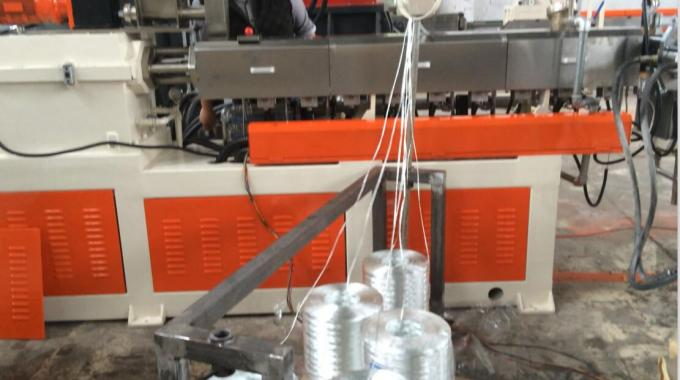 Glass Fiber Reingorced Twin Screw Compounding Extruder With 200-300kg/H