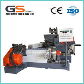 Single / Double Screw Plastic Pellet Making Machine For PVC Cable / Wire Materials