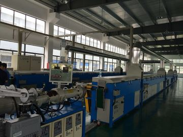 China EPDM Strip Rubber Extrusion Line , CE ISO9001 Silicone Rubber Extrusion Machine  factory