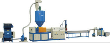 Nylon Plastic Bags Film Recycling Extruder Machine Single Screw 32KW Power