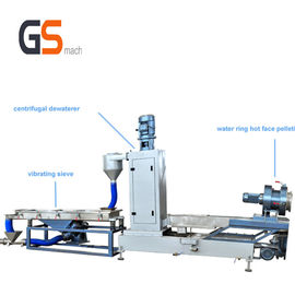 Water Ring Pelleting System Plastic Pelletizing Process 300 - 400 Kg / H Speed