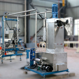 Compound Granules PE Pellet Making Machine , 500Kg / H Underwater Pelletizing System