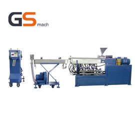 China Desktop Lab Single Screw Extrusion Machine Pelletizing Line For Home Use factory