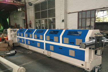 Plastic Masterbatch Single Screw Extruder PP Flakes Recycling Granulator Machine