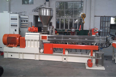 500 Kg/H Output Twin Extruder Machine PP Flakes Bottles Recycle Making Machine