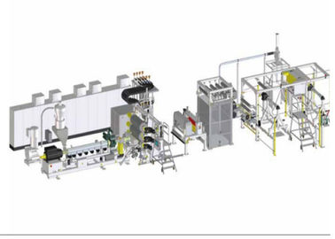 PVDF fluoroplastic single layer sheet extrusion line piezoelectric industry